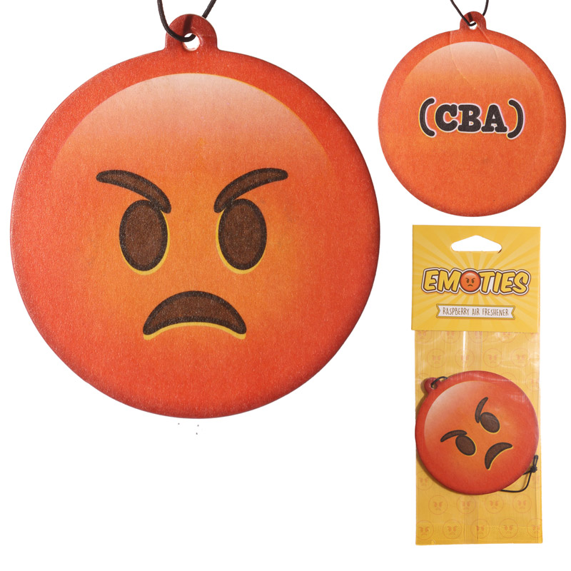 Angry Emotive Raspberry Fragranced Air Freshener