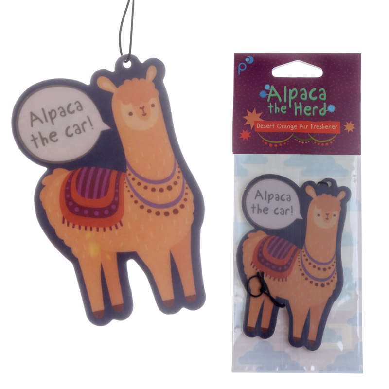 Alpaca Design Orange Scented Air Freshener