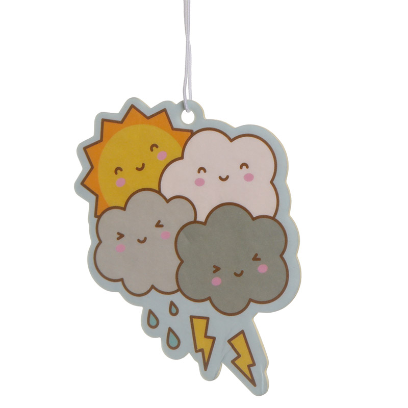 Kawaii Weather Raspberry Scented Air Freshener