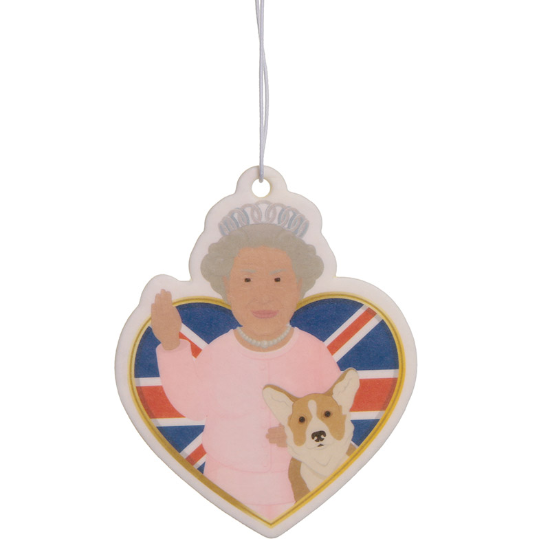 Queen and Corgi Royal Bloom Scented Air Freshener