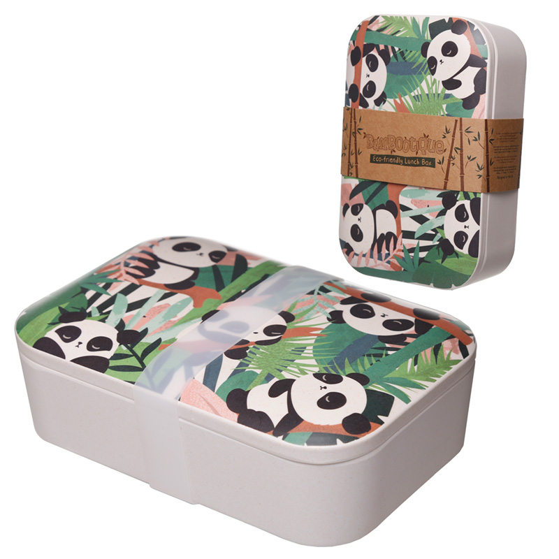 Pandarama Bamboo Eco Friendly Design Lunch Box