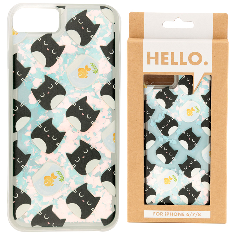 Feline Fine Design iPhone 6/7/8 Phone Case