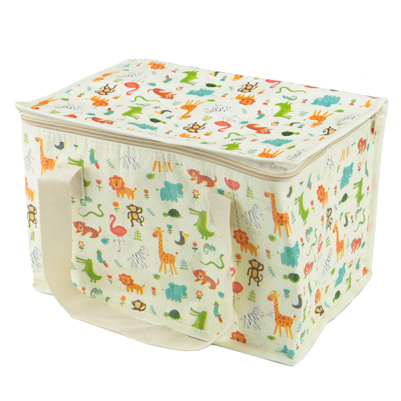 Zoo Design Lunch Box Picnic Cool Bag