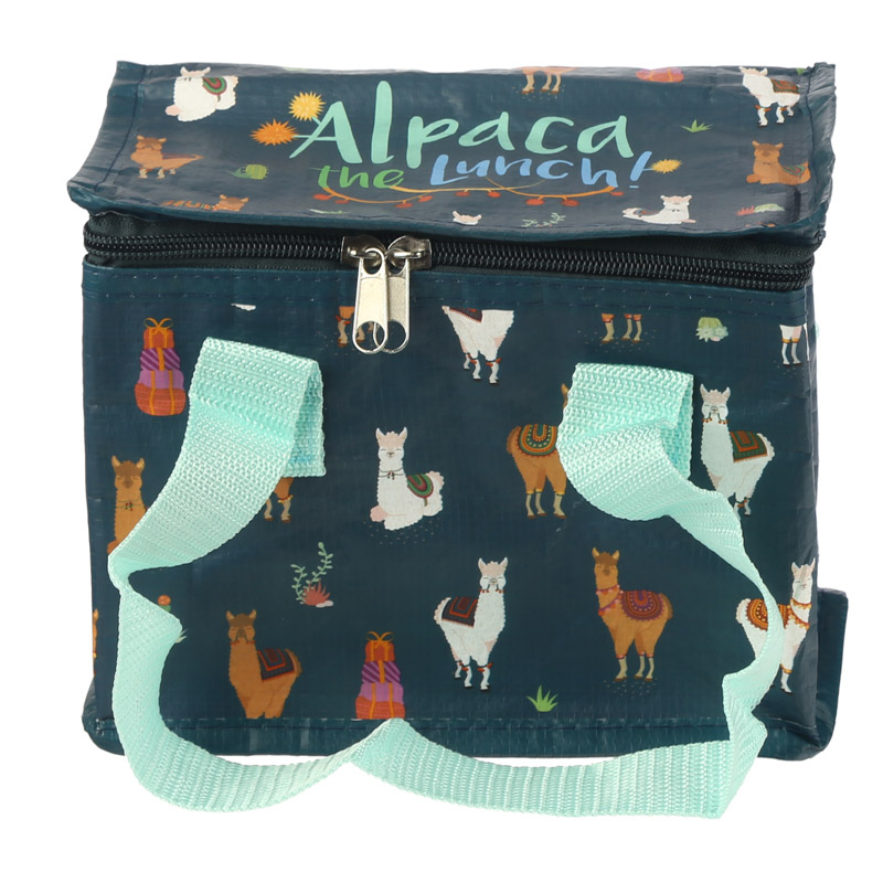 Alpaca Design Lunch Box Cool Bag