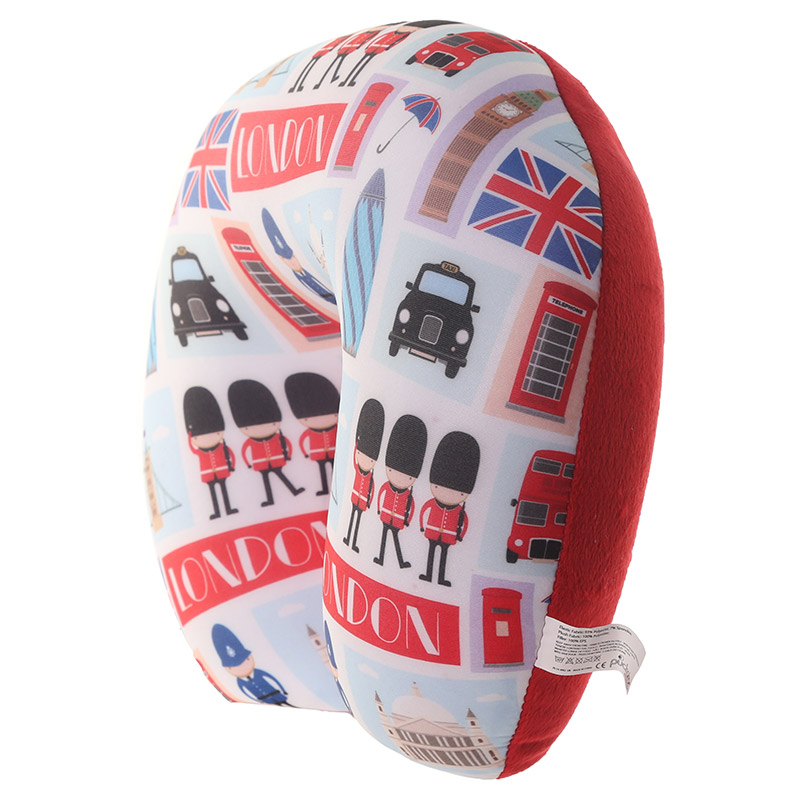 London Icons Design Handy Travel Pillow
