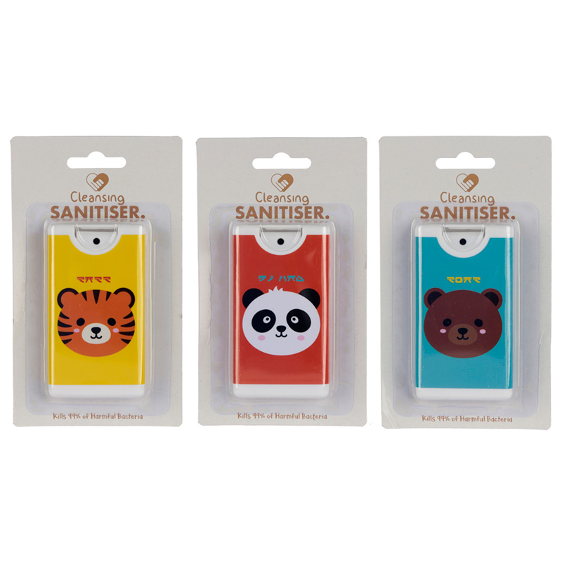 Cutiemals Cute Animals Spray Hand Sanitiser