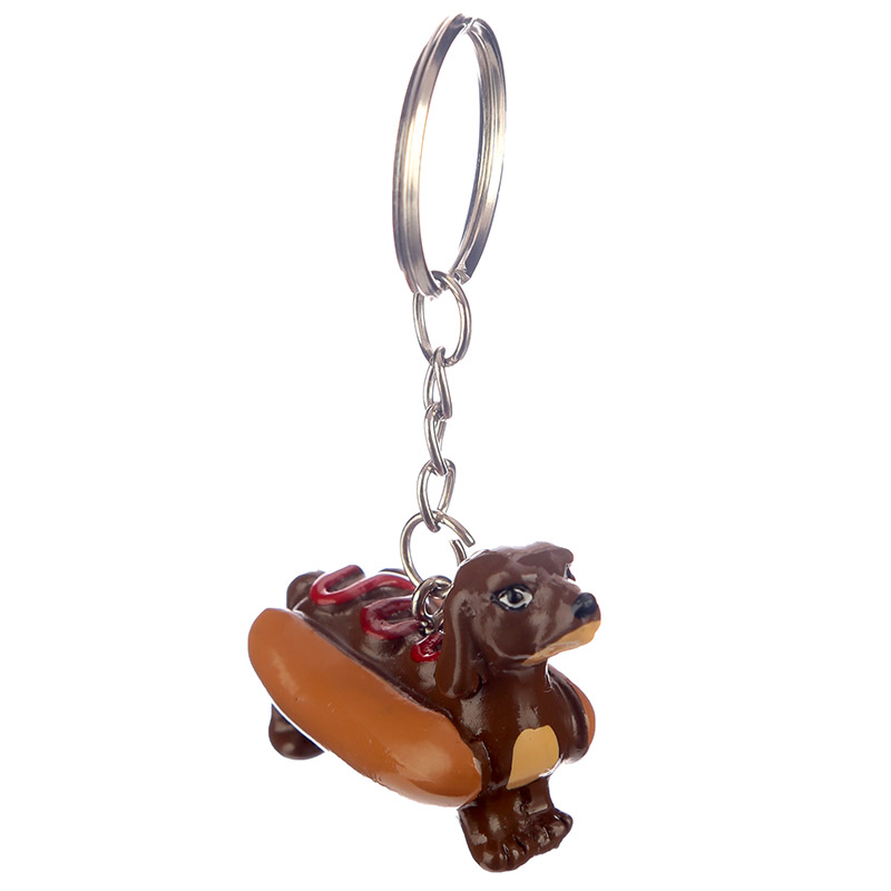 Hot Dog Keyring