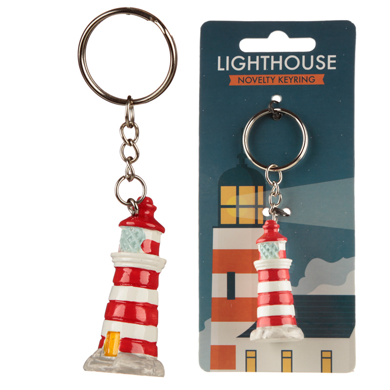 Lighthouse Keyring
