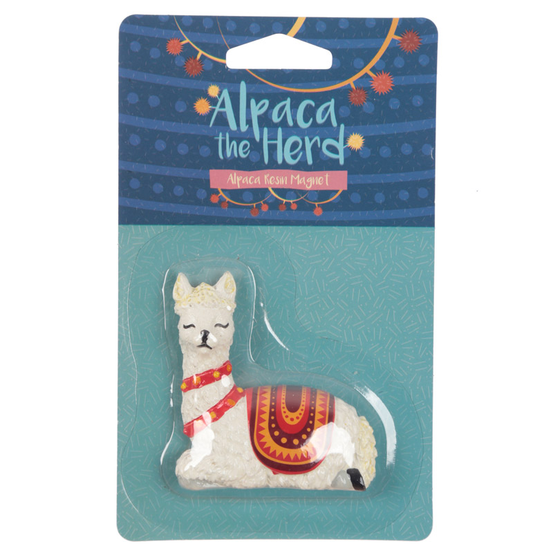 Alpaca Collectable Magnet