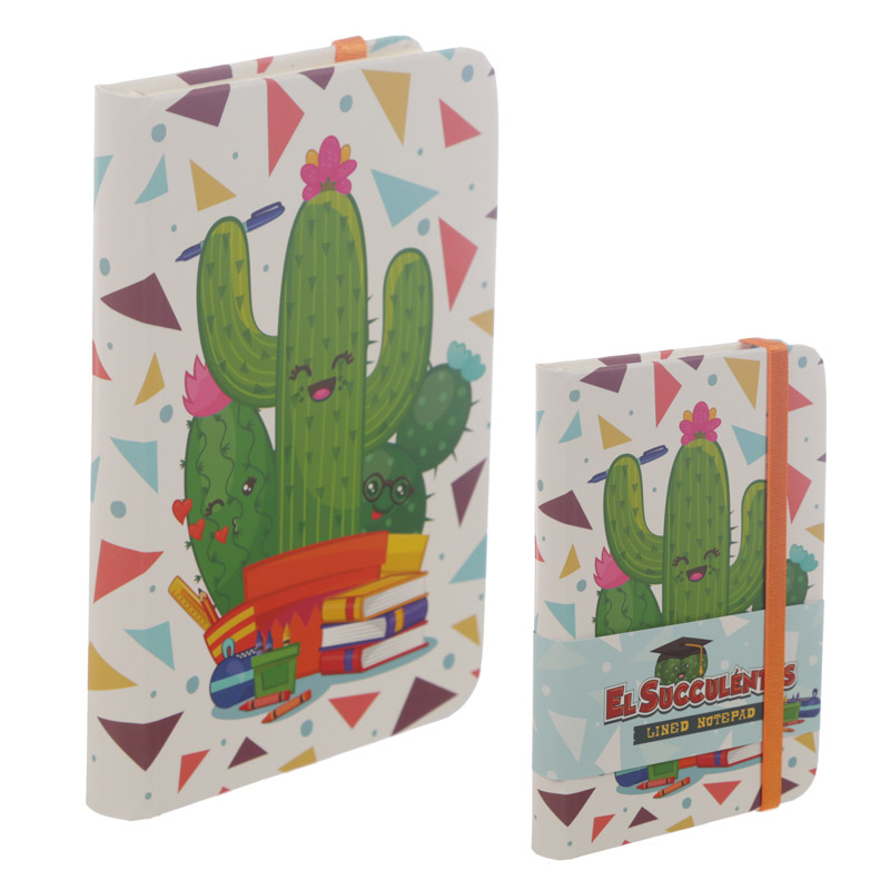 Cactus Design A6 Collectable Hardback Notebook