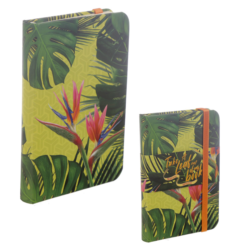 Tropical Paradise A6 Collectable Hardback Notebook