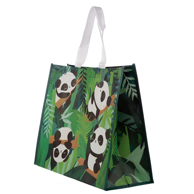 Panda Design Reusable Shopping Bag