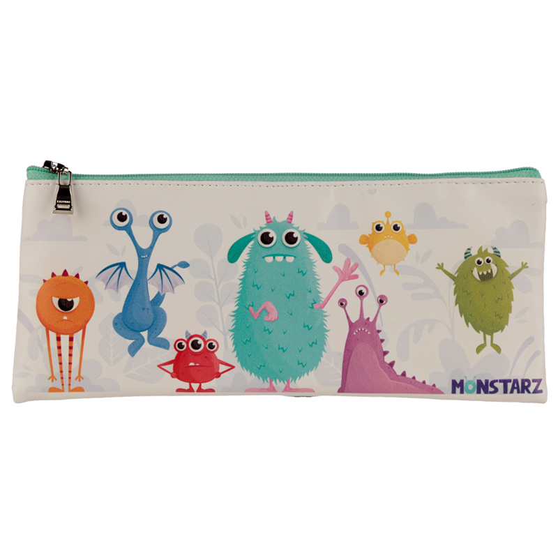 Monsters Design Fun Novelty Pencil Case